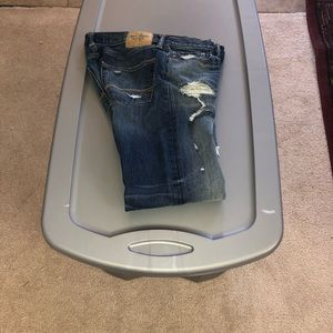 Abercrombie & Fitch Destroyed style jeans 30x32